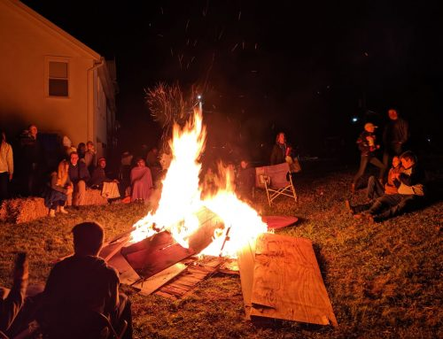 Youth Group Bonfire and Fear Factor